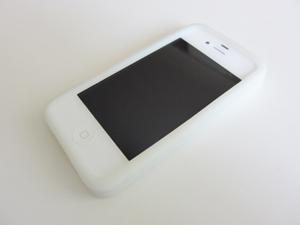 crocs chameleons adrina iPhone4 case クロックス カメレオンズ アドリナ iPhone4ケースをiPhone4ホワイトにつけてみたところ