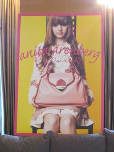 2012秋冬アニタアレンバーグAnita Arengergはダコタ・ローズDakota Roseがイメージキャラクター!