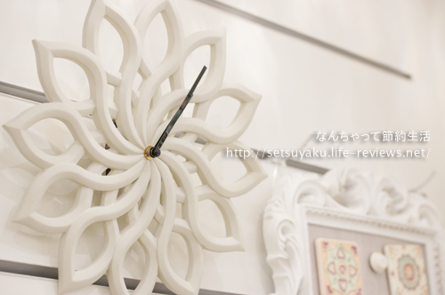 引っ越しや新築祝いにオススメの壁掛け時計。ステア ウォールクロック
