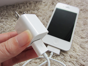 iPhone4 whiteが届きました〜!!