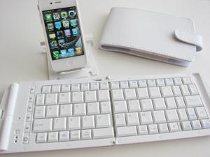 Bluetoothキーボード エレコムTK-FBP028EWH