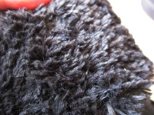 寒い冬でもクロックス! 2WAYブーツのベリエッサ バックルberryessa buckleボア部分アップ