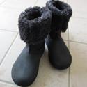 寒い冬でもクロックス! 2WAYブーツのベリエッサ バックルberryessa buckle